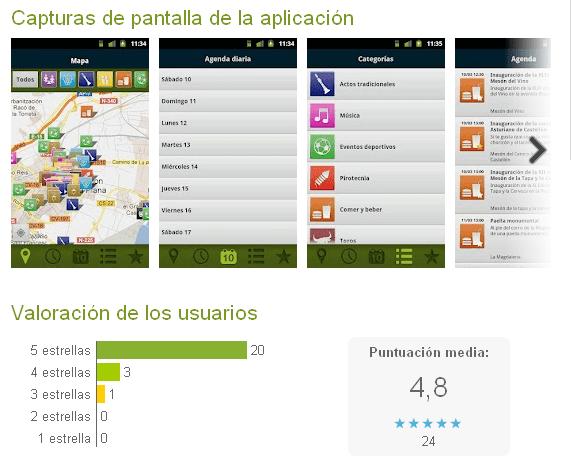 Captura App Magdalena Android