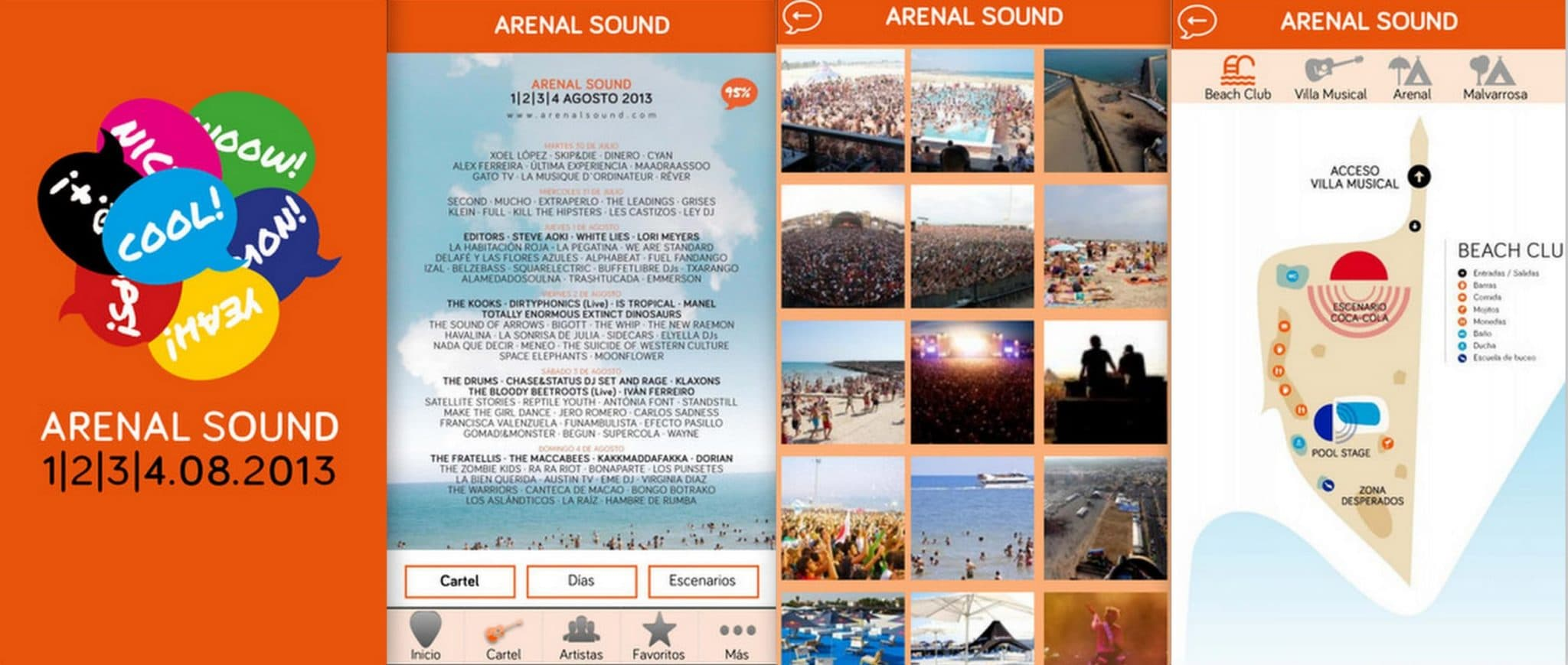 Collage App 480 Arenal Sound 2013