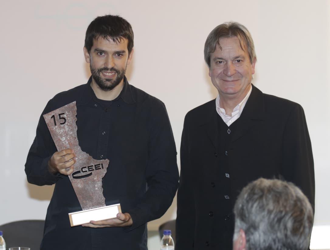 Premio CEEI-IVACE CV 2015_Sergio Aguado-director general Conselleria